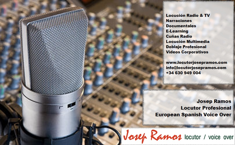 Portada 1  European Spanish Voice Over - Voice Talent From Spain Portada 1