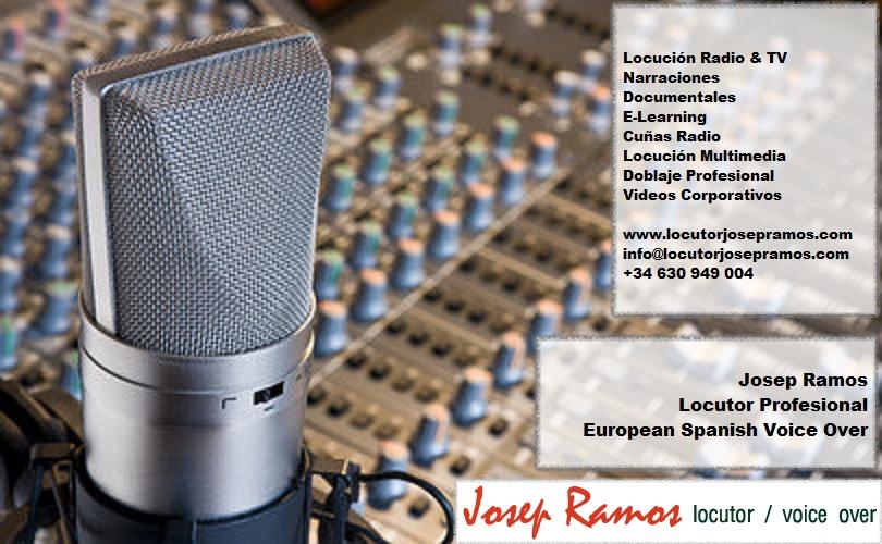 Portada 1  European Spanish Voice Over - Voice Talent From Spain Portada 1